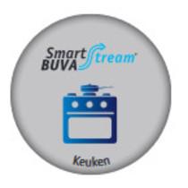 Smartstream Keukenklep 75 m3/h