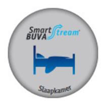 Smartstream Slaapkamerklep luchtkwaliteitsensor, 30 m3/h