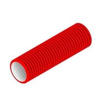 Plus flexibele slang 92mm 50 mtr. ROOD