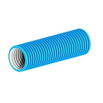 Plus flexibele slang 92mm 50 mtr. BLAUW