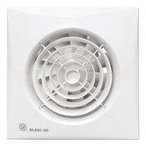 Silent 200 CRZ TIMER Badkamer/ toilet ventilator - dia 120mm