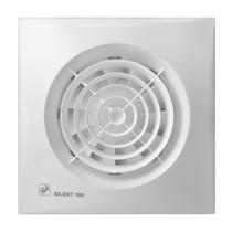 Silent 100 CMZ aan/uit + trekkoord Badkamer / toilet ventilator - dia 100mm