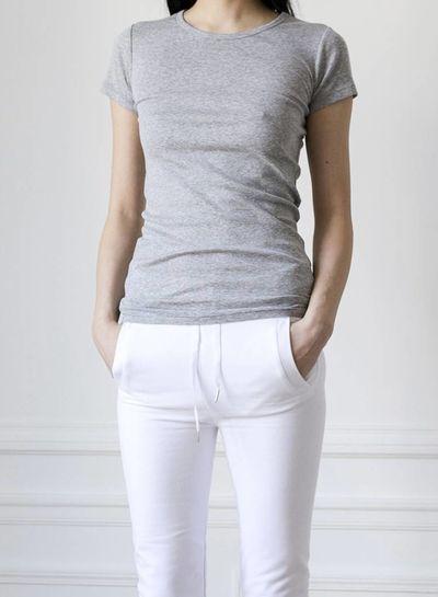The White Briefs AMARANTH Basic T-Shirt