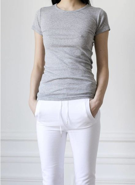 The White Briefs AMARANTH Basic T-Shirt