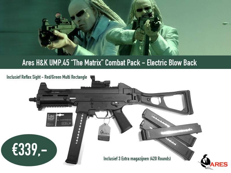 """Ares UMP .45 """"The matrix"""""""