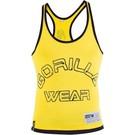 Gorilla Wear Logo Stringer Tank Top - Yellow