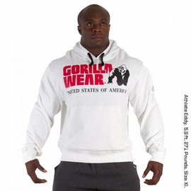 Gorilla Wear Classic Hooded Top - White