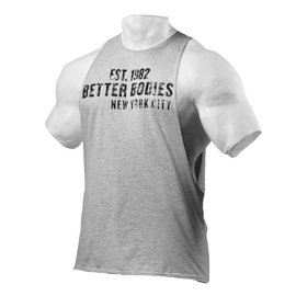 Better Bodies Graphic Logo Sleeveless - Grey Melange