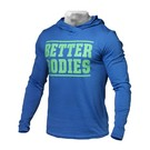 Better Bodies Mens Soft Hoodie - Bright Blue