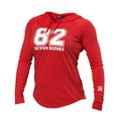 Better Bodies Varsity Hoodie - Tomato Red