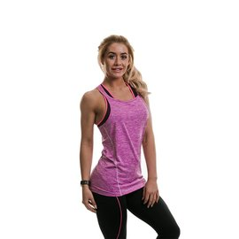 Gold's Gym Performance Ladies Vest - Lilac Marl