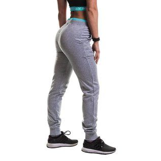Gold's Gym Ladies Fitted Premium Jog Pants - Grey