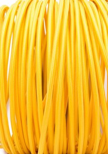 Stoffen Snoer, geel
