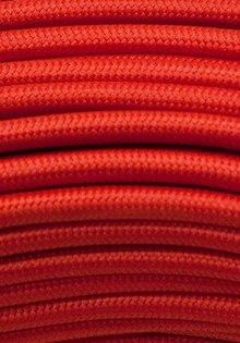 Strijkijzersnoer rood