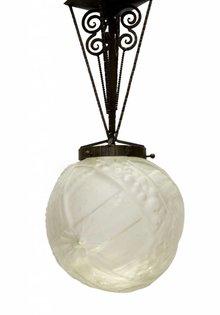 Muller Freres Art Deco Hanglamp, 1930