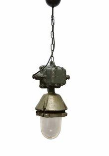 Industriele Hanglamp Grote Metalen Houder