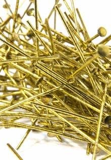 Kroonluchter, Goudkleurige Speld, 3.8 cm