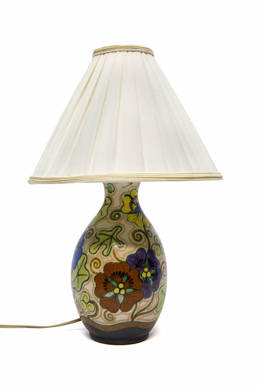 Plateel Goedewaagen, Tafellamp