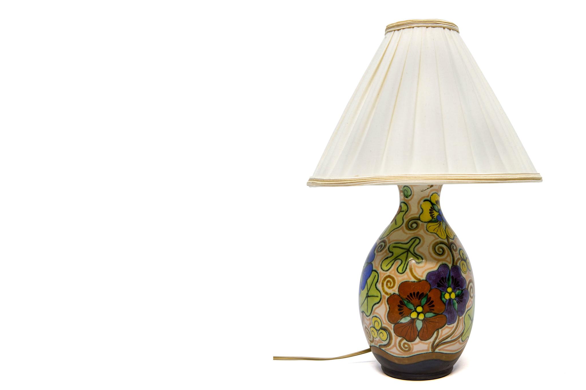 tafellamp plateel