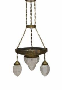 Koperen Hanglamp
