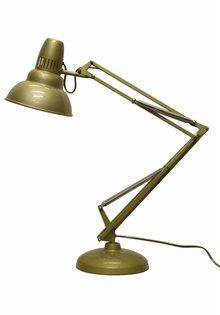 Anglepoise Bureaulamp, goudkleurig, jr 50