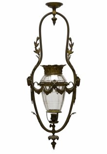 Antieke Hanglamp, 'Minotaurus'
