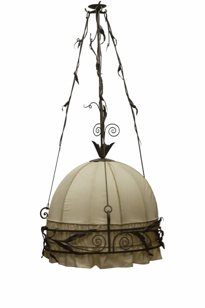 Sfeerverlichting klassieke hanglamp met smeedijzer for Klassieke hanglamp