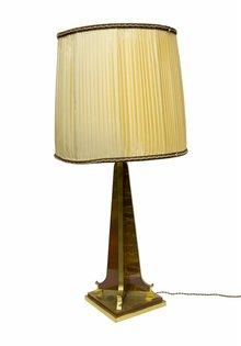Tafellamp, Grote Schemerlamp van Stof