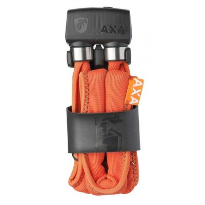 AXA Vouwslot Foldable 800 100cm met houder oranje