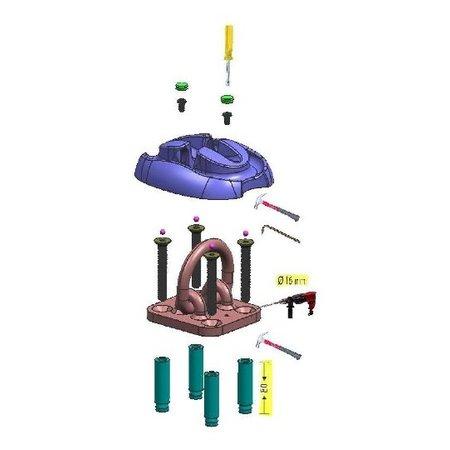 Pro-tect Muuranker of vloeranker voorzien van het ART-4 keurmerk