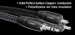 audioquest sydney stereo cinch kabel rca pure audio. Black Bedroom Furniture Sets. Home Design Ideas
