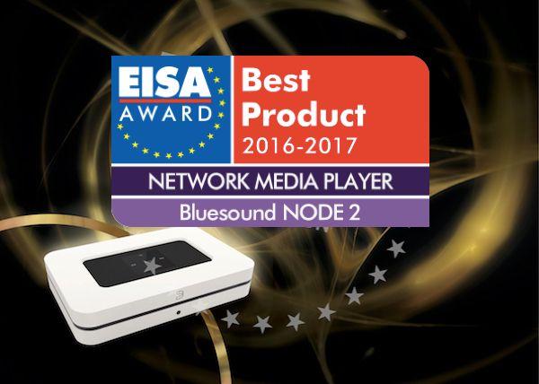 BLUESOUND gewinnt EISA Award