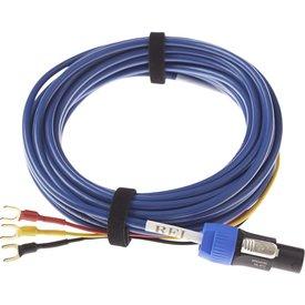 BASSLINE BLUE Subwoofer-Kabel
