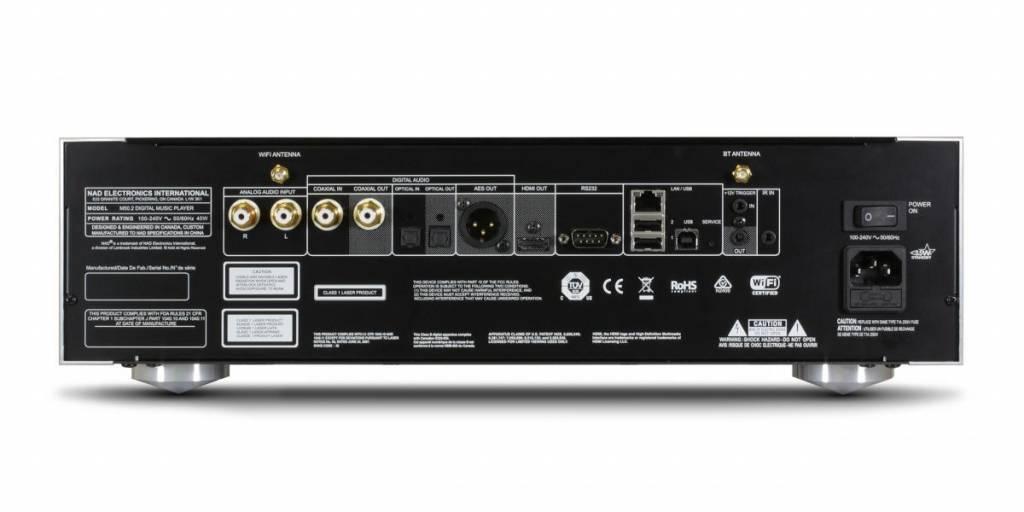 nad m50 2 high end netzwerk player cd ripper pure audio. Black Bedroom Furniture Sets. Home Design Ideas