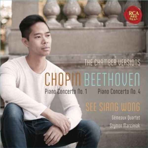 See Siang Wong, Grémeaux Quartet + Szyman Marciniak - Chopin + Beethoven Klavierkonzerte - Audio-CD