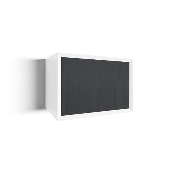 clic 311 Large HiFi Möbel mit Gewebetüren