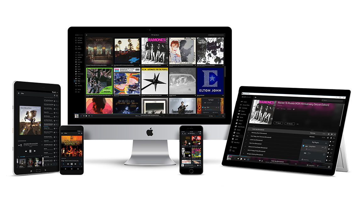 Online streaming plus iOS and Android apps