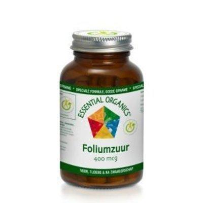 Essential Organics Foliumzuur 400 mcg
