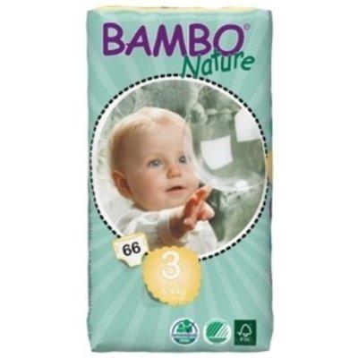Bambo Bambo Nature Babyluier midi 3, 5-9 kg (33 stuks)