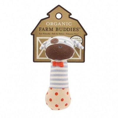 Applepark Organic Farm Buddies Squeaky Toy Boxer Dog