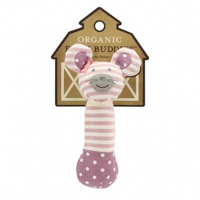 Applepark Organic Farm Buddies Squeaky Toy Ballerina Mouse
