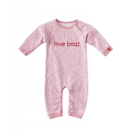Little Label Sweat pyjama / boxpakje – lichtroze gemêleerd