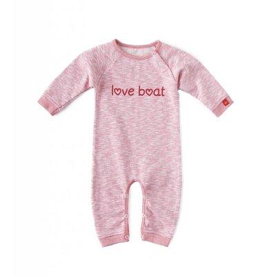 Little Label Sweat pyjama / boxpakje – lichtroze gemêleerd