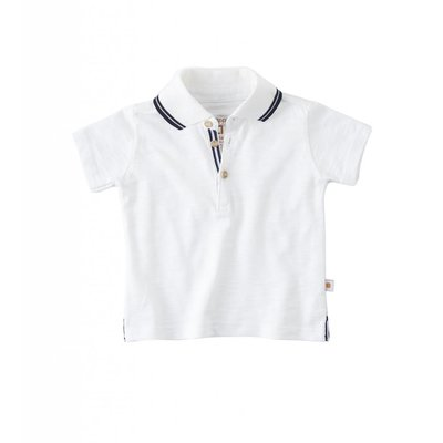 Little Label Polo shirt – off white