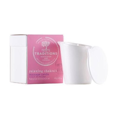Treets Traditions Relaxing Chakra's Massage Candle