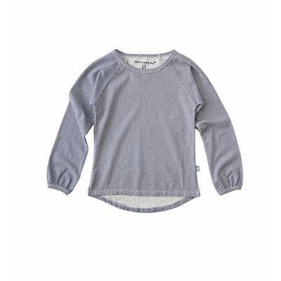 Little Label Shirt baby girl – donkerblauwe diamantjes – maat 74 en 80