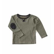 Little Label Shirt baby boy – zwarte streepjes