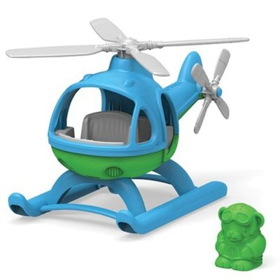 Green Toys Helicopter - BLUE TOP