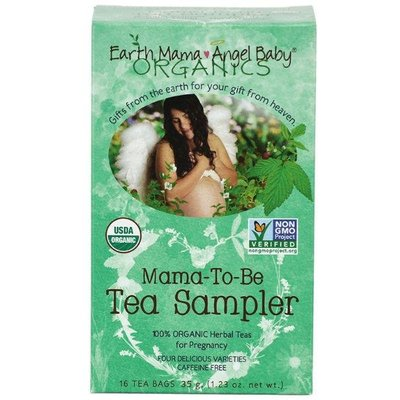 Earth Mama Mama-to-be sampler tea