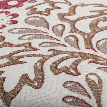 Fancy Embroidery bedsprei Yolanda B Cream